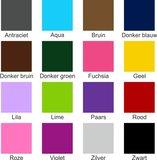 Kleurenoverzicht