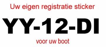 Motor boot Y-registratie (voor beide zijden)