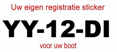 Voorbeeld registratie